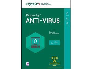 Kaspersky Anti-Virus 3 Users 1 Year