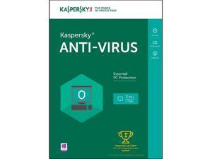 Kaspersky Anti-Virus 2016 - 3 PCs (Key Card)