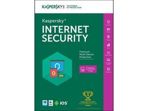 Kaspersky Internet Security 2016 - Key Card - 1 PC