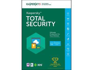 Kaspersky Total Security 2016 - 3 PCs (Key Card)