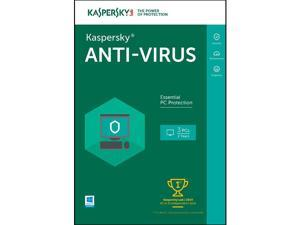 Kaspersky Anti-Virus 2016 - 3 PCs / 2 Years