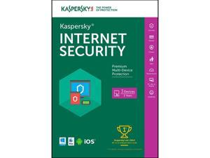Kaspersky Internet Security 2016 - 3 PCs / 2 Years (Key Card)
