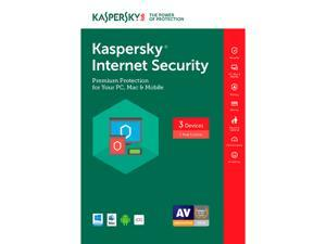 Kaspersky Internet Security 2017 - 3 PCs (Key Card)