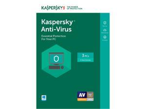 Kaspersky Anti-Virus 3 Device 2017 - Download
