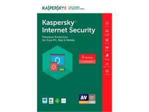 Kaspersky Internet Security 3 Device 2017 (Download)