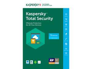 Kaspersky Total Security 2017 - 5 PCs (Key Card)