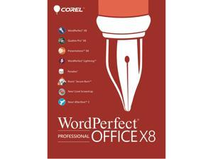 Corel WordPerfect Office X8 Pro