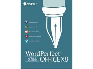 Corel WordPerfect Office X8 Home&Student