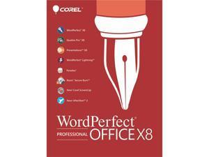 Corel WordPerfect Office X8 Pro Upgrade