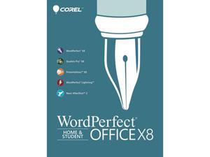 Corel WordPerfect Office X8 - Home & Student Edition