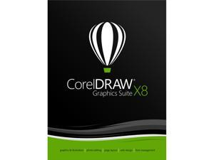 Corel CorelDRAW Graphics Suite X8 - Upgrade download
