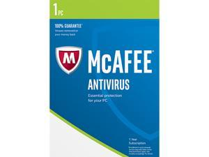 McAfee AntiVirus 2017 for 1 Device for Free