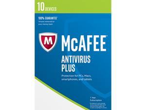 McAfee AntiVirus 2017 - 10 Device (Free upgrade to 2018)