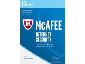 McAfee Internet Security 2017 - 10 Device (Free upgrade to 2018)