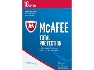 McAfee Total Protection 2017 - 10 Device (Free upgrade to 2018)