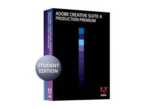 Adobe Production Premium CS4 for Mac Students Version