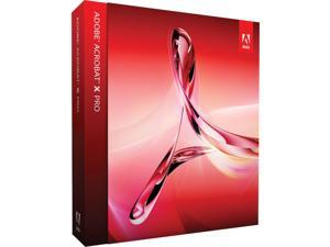 Adobe Acrobat X Professional for Windows - Upgrade Version