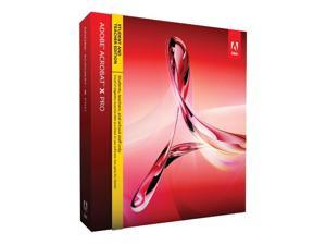 Adobe Acrobat X Professional for Mac - Student & Teacher Edition