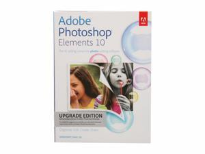 Adobe Photoshop Elements 10 for Windows & Mac - Upgrade Version