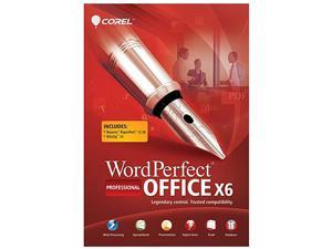 Corel WordPerfect Office X6 Pro Upgrade