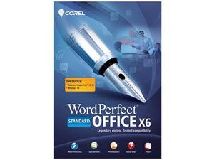 Corel WordPerfect Office X6 Standard Upgrade