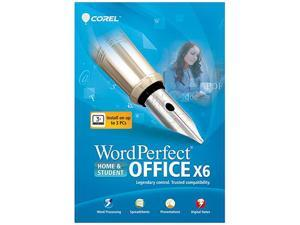 Corel WordPerfect Office X6 Home & Student