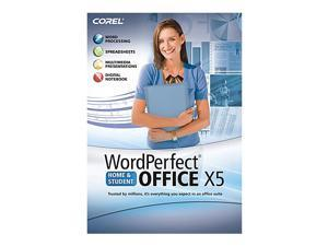 Corel WordPerfect X5 Home and Student (French/English)
