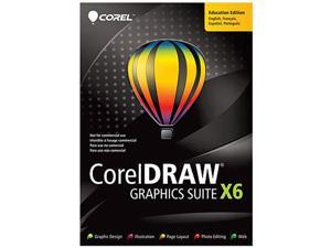 Corel CorelDRAW Graphics Suite X6 Upgrade - Download