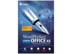 Corel WordPerfect Office X6 Standard - Download