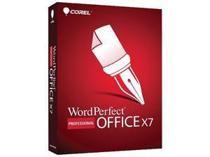 Corel WordPerfect Office X7 Pro Upgrade