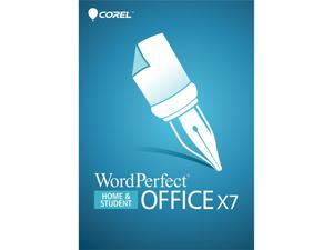 Corel WordPerfect Office X7 Home & Student - Product Key Card (OEM)  - OEM