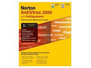 Symantec Norton AntiVirus 2009 - 1 User - Small box