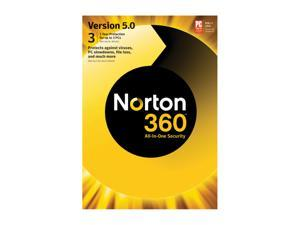 Symantec Norton 360 V5.0 - 3 User