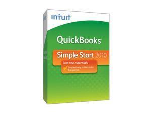 Intuit Quickbooks Simple Start 2010