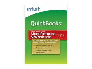 Intuit Quickbooks Premier Manufacturing And Wholesale 2013
