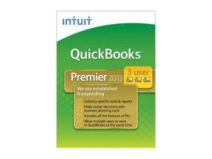 Intuit Quickbooks Premier Industry Edition 2013 - 3 User