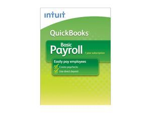 Intuit Quickbooks Payroll Basic 2013