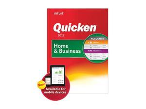 Intuit Quicken Home and Business 2013