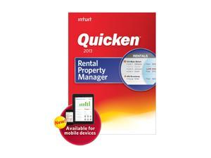 Intuit Quicken Rental Property Manager 2013