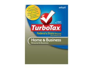 Intuit TurboTax Home & Business 2012