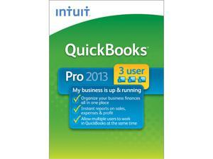 Intuit  QuickBooks Pro 2013 3 User - Download