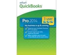 Intuit Quickbooks Pro 2014 - 3 Users
