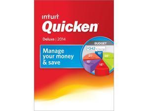 Intuit Quicken Deluxe 2014