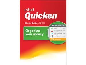 Intuit Quicken Starter Edition 2014