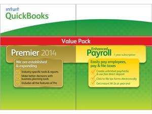 Intuit Quickbooks Premier w/ Enhanced Payroll 2014 - Download