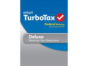 Intuit TurboTax Deluxe Federal 2013 For Windows - Download