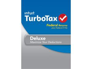 Intuit TurboTax Deluxe Federal 2013 For Mac - Download