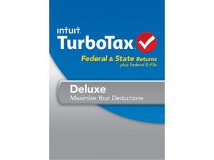Intuit TurboTax Deluxe Federal & State 2013 For Mac - Download