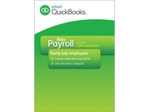 Intuit QuickBooks Basic Payroll 2015 - Download