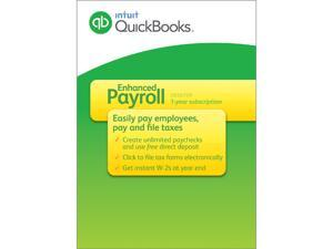 Intuit QuickBooks Enhanced Payroll 2015 - Download